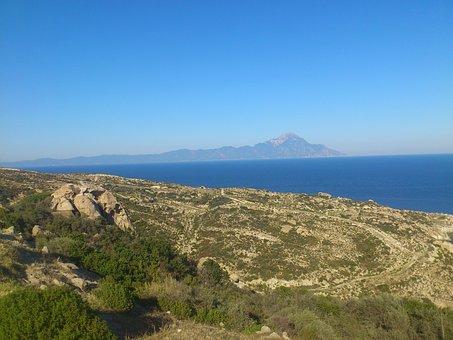 Athos, Halkidiki, Sithonia, Mountain, Monk, Monastery