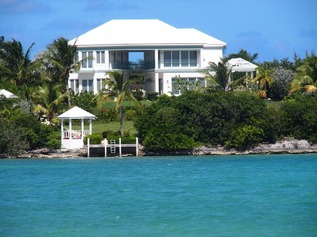 Beach House, Ocean, Vacation, Exuma, Bahamas