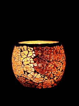 Candle, Tealight, Vessel, Candlelight, Shining