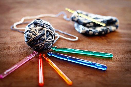 Crochet, Wool, Yarn, Needles, Hand Labor, Knit, Hobby