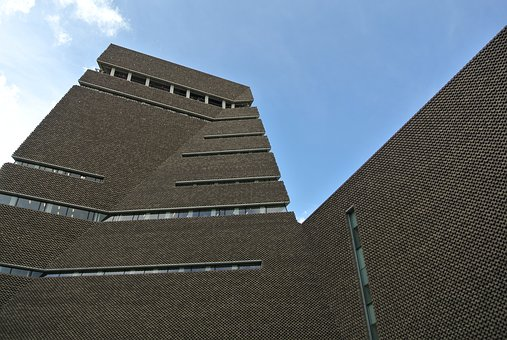 Tate, Modern, Brickwork, Architechture, London