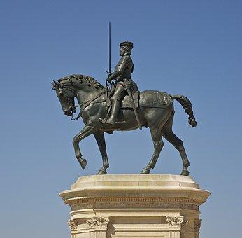 Anne De Montmorency, Equestrian, Statue, Bronze, France