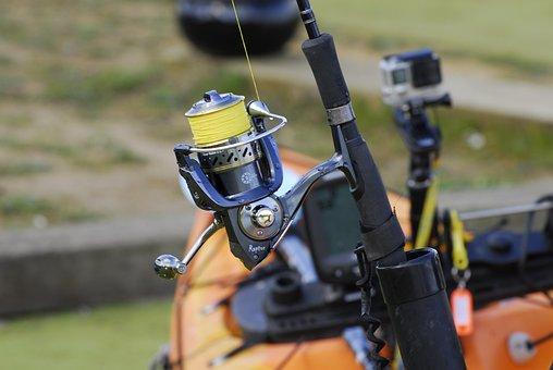 Fishing Reel, Fishing Line, Reel, Fishing, Equipment
