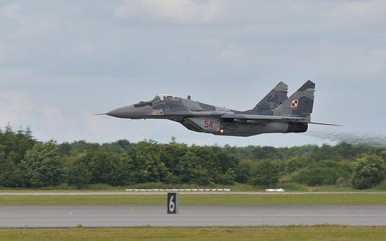Airplane, Fighter Aircraft, Mig29, Fulcrum, Airshow