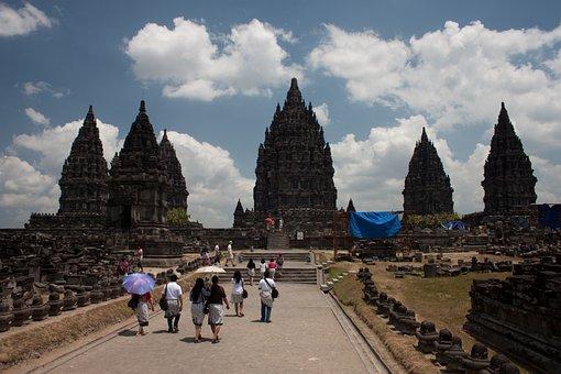 Indonesia, Bropudur, Java, Temple