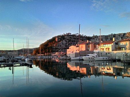 Marine Village, Sea, Bay, Costa, Mediterranean, Italy