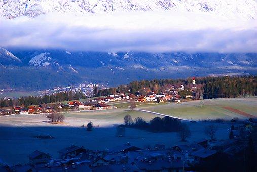 Judensteing, Austria, Scenic, Sky, Clouds, Fog