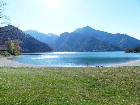Lago Di Ledro Lake, Lake, Northern Italy Alps, Alpine