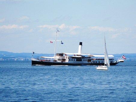 Steamboat, Smoke, Seafaring, Nostalgia