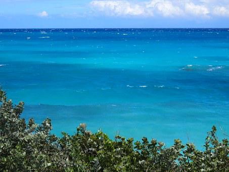 Bahamas, Ocean, Exuma, Sea, Waves, Blue, Vacation