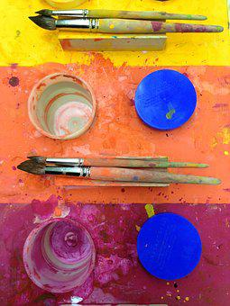 Paint, Staining, Brush, Art, Colorful, Color, Creative