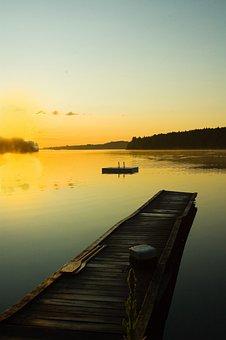 Dock Cottage, Morning, Sunrise, Sunset, Vacation