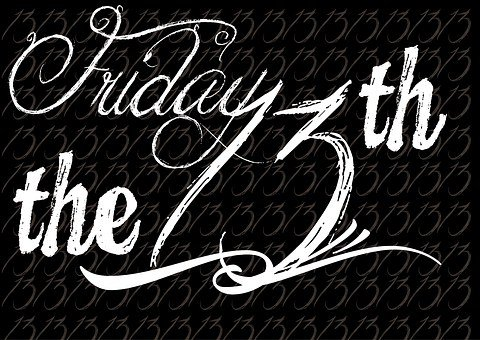 Friday The 13th, Wordpress, Typography, Word