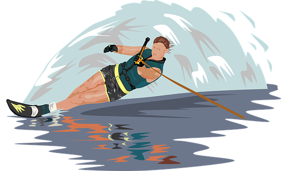 Water Skiing, Slalom, Skier, Athlete, Ski, Skiing
