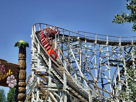 Rollercoaster, Attraction, Adrealin