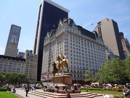 Plaza, Manhattan, Hotel, New York, Avenue