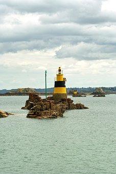Brittany, Ile, Island, Sea, Nature, Wild, Port, Rocks