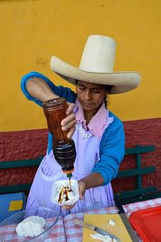 Peru, Cajamarca, Honey, Cheese, Countrywoman