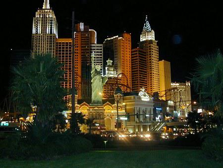New York, Las Vegas, Casinos, Hotel, Architecture