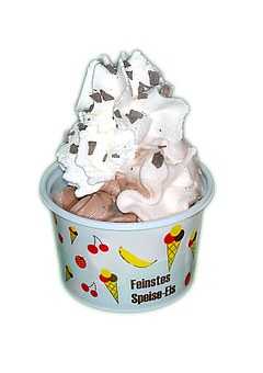 Soft Ice Cream, Ice, Ice Cream, Desserts, Cream Cups