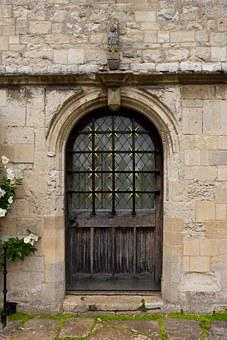 Entrance, Stonework, Arch, Angelsey Abbey