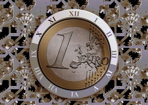 Clock, Time, Euro, Money, Currency, Europe, Teeth