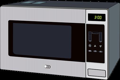 Microwave, Oven, Appliance, Kitchen, Heats, Food