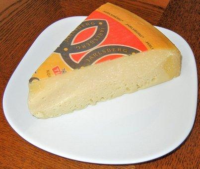 Cheese, Jarlsberg Norway, Semi Soft, Food