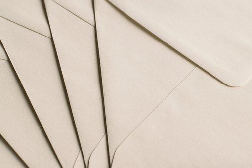 Envelope, Letters, Paper, Stationery Shop, Send