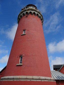 Lighthouse, Fyr, Denmark, Lyngvik Lighthouse