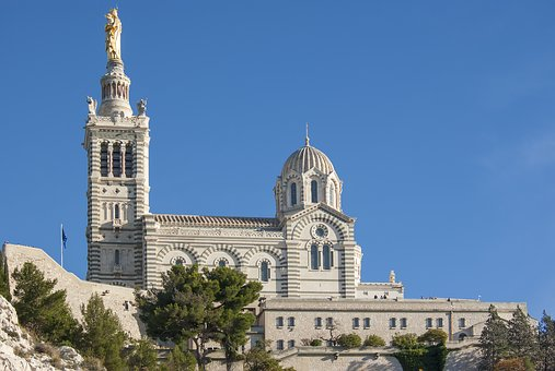 Basilica, Basilique, Church, Notre Dame De La Garde