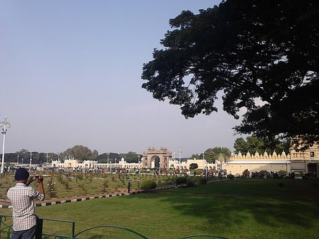 Mysore, Palace, Karnataka, Landmark, Indian, Travel