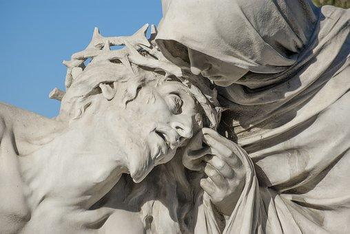 Pieta, Christ, Passion, Basilique, Church, Marseille