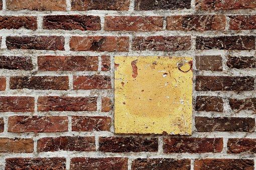 Wall Of Bricks, Wall, Bricks, Texture, Red