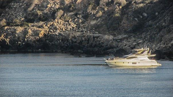 Cyprus, Konnos Bay, Yacht, Leisure, Relaxation