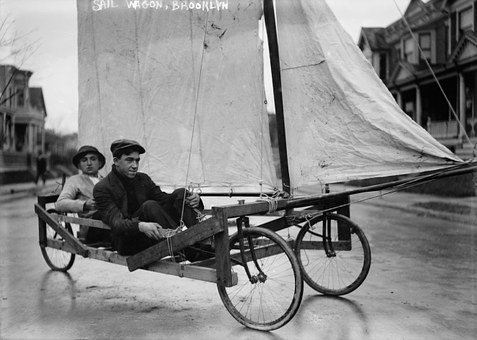 Soapbox, Wind Wagon, Land Sailing, Sail Wagon, Sail