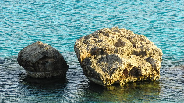 Cyprus, Konnos Bay, Rocks, Sea