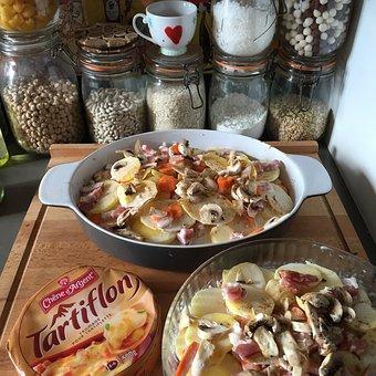 Tartiflette, Cheese, Kitchen