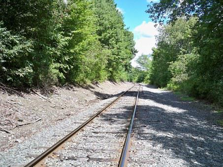 Rails, Nature, Rail, Travel, Train, Transportation, Way