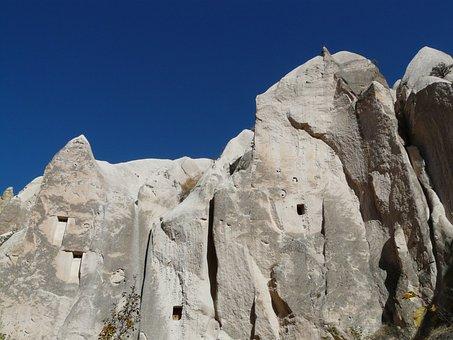 Valley Of Roses, Cappadocia, Tufa, Turkey, House