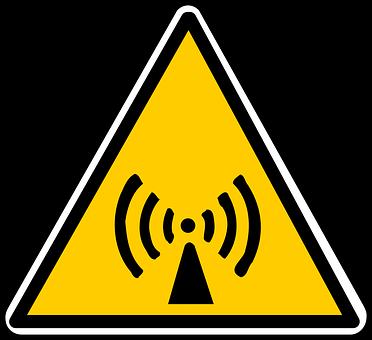 Warning, Microwave, Radiation, Radiations
