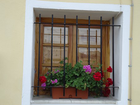 Window, Windows, Architecture, House, Composition