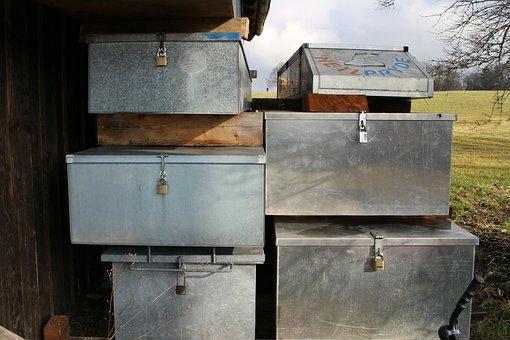 Security, Box, Closed, Work, Tool Box, Steel, Metal