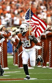 American Football, Flag, American Flag