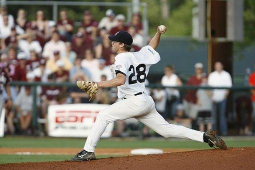 Baseball, Pitcher, Pitching, Game, Ball, Sport, Athlete