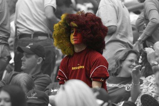 Sports Fan, Athletic Supporter, Football Game, Fan