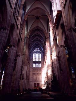 Cologne Cathedral, Gothic, Cologne On The Rhine