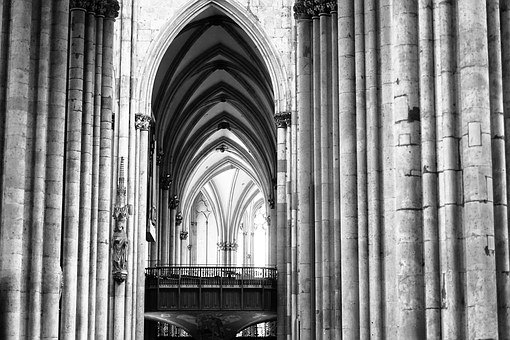 Cologne, Dom, Light, Mood, By Looking, Passage