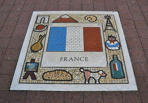 France, Team Emblem, Flag, Country, Emblem, Nation