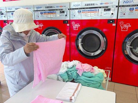 Launderette, Dryer, Washing Machine